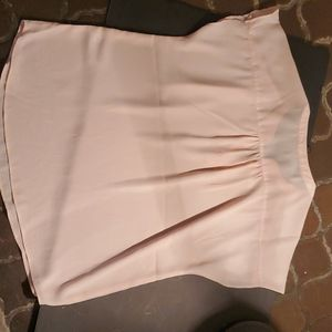 Banana Republic Tops - Shell top cap sleeve Color blush pink color